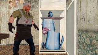 Granny vs Mr Fleisch vs Böse Nonne lustige animation-Teil 44