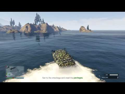 GTA 5:#48 Doing the new Mobile Operation mission:Offshore Assets (APC)  (GTA 5 Online)