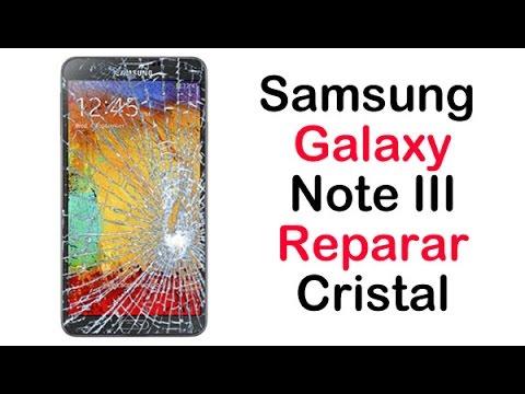 Samsung Galaxy Note 3 Reparar o cambiar el cristal (Pantalla)