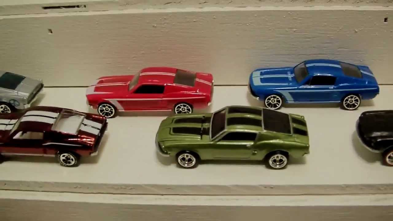 Hot Wheels MUSTANG collection - YouTube