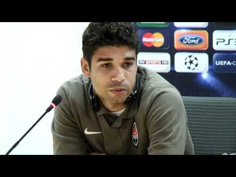 Shakhtar Donetsk's Eduardo interview