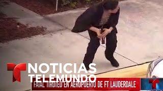 Identificado autor de tiroteo en aeropuerto de Fort Lauderdale  | Noticiero | Noticias Telemundo
