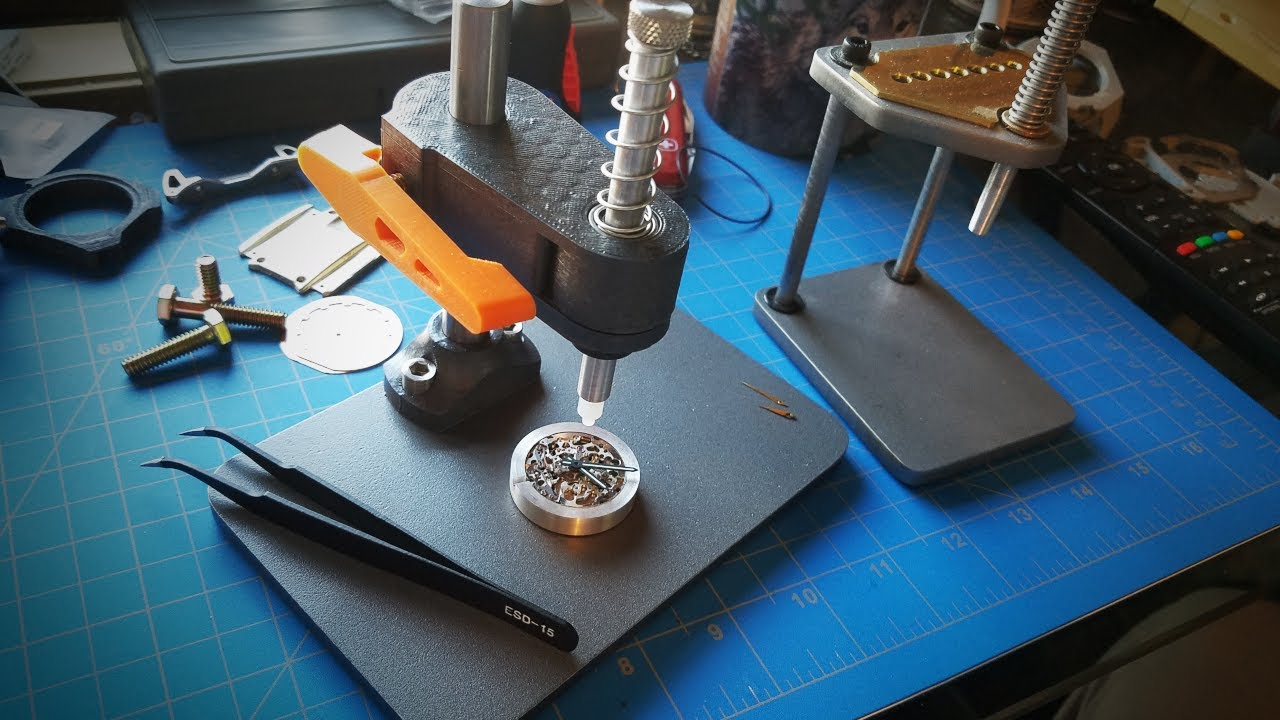 How to Make (and not to make) a Watch Hand Press