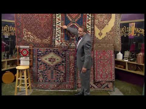 Frank Shaia sharing some of his knowledge and wisdom on Antique Rugs...Part 1!