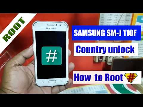 How To Samsung Galaxy J1  SM-J110F  Root Country Unlock, SIM Pin SIM Network PUK Remove,