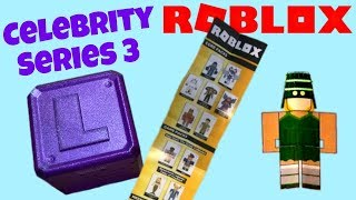 Roblox Toys CHECKLIST for Celebrity Series 3 (Purple Mystery Boxes)
