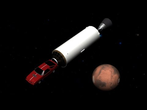 How Far Can The Roadster Get -Explaining How The Falcon Heavy Can Reach Mars Outside Transfer Window