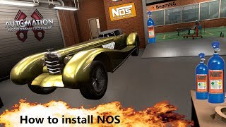 Download Supercharger Mod In Automation Game Mad Max Interceptor Ish