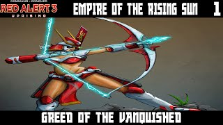 Red Alert 3: Uprising Empire of the Rising Sun Lets Play Part 1 - Greed of the Vanquished
