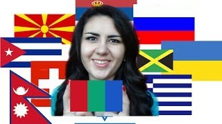 АСМР/ASMR шепот и рисование/whispering and drawing. Флаги стран мира/Flags of the world countries