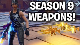 DUMB Scammer has NEW Season 9 GUNS! 😱😧 (Scammer Get Scammed) Fortnite Save The World