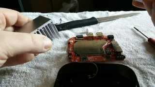простое дополнительное охлаждение heatsink процессора wintel cx w8