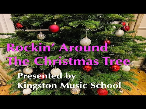 Counting Down to Christmas: Student Christmas Video #1: Rockin' Around the Christmas Tree 🌲❄️🔔