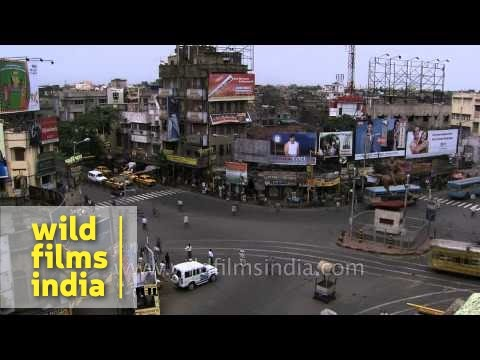 Kolkata traffic time lapse - is Delhi or Kolkata traffic better?