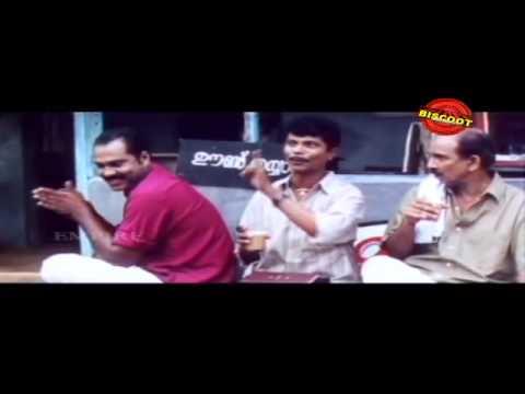 Kottaram Veetile Apputtan Malayalam Movie Comedy Scene indirans and Kalabhavan mani