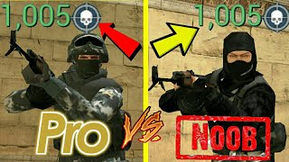 Kill Thousand Zombie!-PRO VS NOOB-Special Forces Group 2(SFG2)