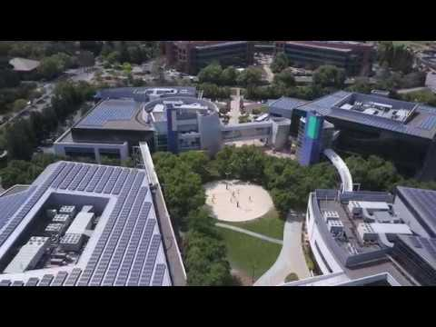 GooglePlex by drone