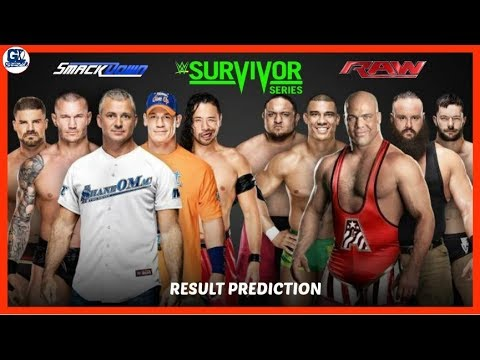 Survivor Series 2017 Raw vs Smack Down Match Result Prediction thumbnail