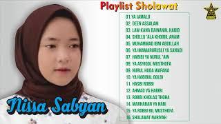 Nissa Sabyan Full Album Terbaru dan Terbaik 2018 -Ya Jamalu