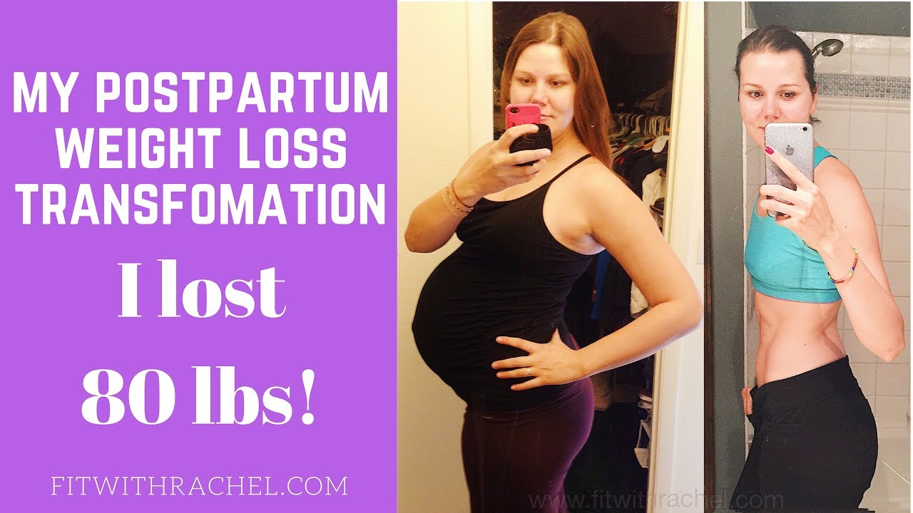 Postpartum Weight Loss Before and After--Woman's Weight Loss ...