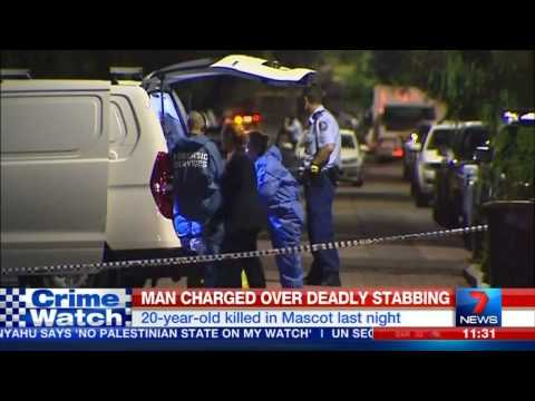 Man Stabbed to Death - Mascot, Sydney (2015)