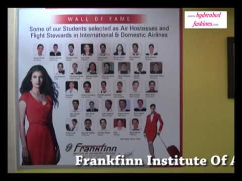 Frankfinn Institute Of Air Hostess Training New Centres Inaugurated By Actess Supriya In Hyderabad