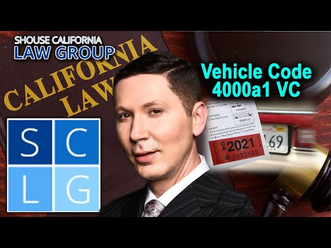 4000a1 VC – What to do if you get a vehicle registration ticket in California