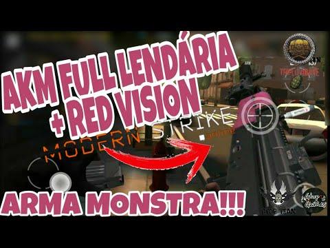 MSO, AKM FULL LENDÁRIA + RED VISION...TA MONSTRA??!