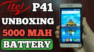 Itel P41 Unboxing || ITEL POWER PRO P41 UNBOXING