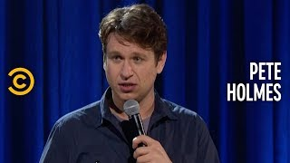 Pete Holmes Dropped a Dog, and It Was Awful