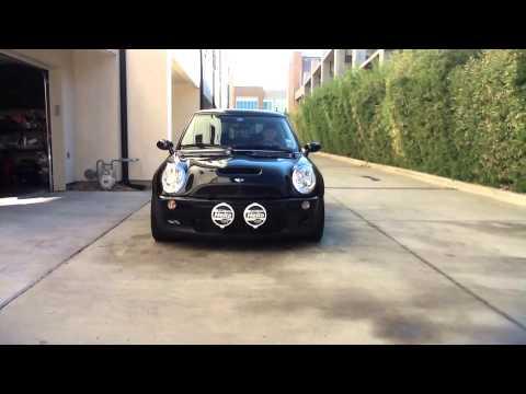 Loud Car Horn >> MINI COOPER R53 HELLA SUPERTONES TEST - YouTube