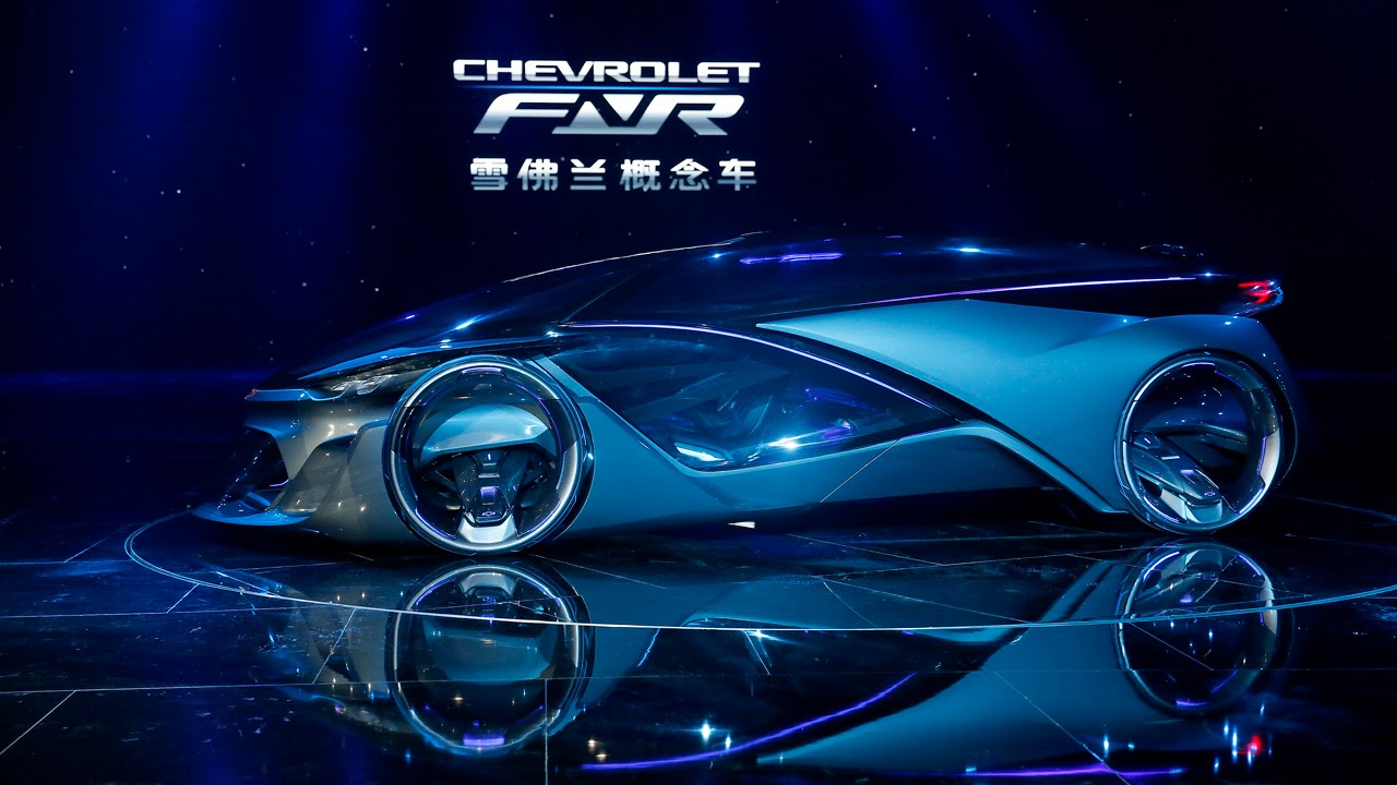 Chevrolet Fnr Autonomous Electric Concept Vehicle Youtube