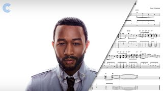 Alto Sax - All of Me - John Legend - Sheet Music, Chords, & Vocals