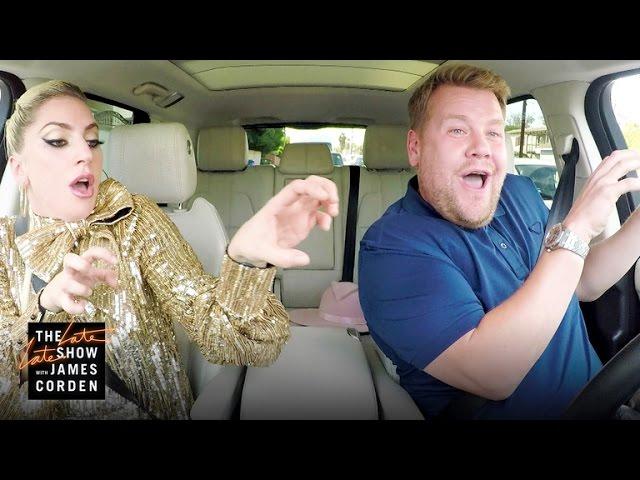 Лејди Гага на шоуто на Џејмс Корден