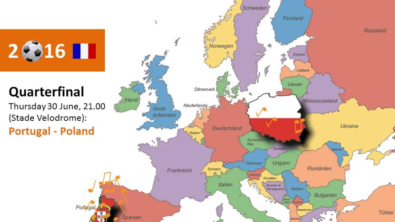 Portugal Polen Em