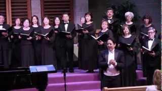 L.A. Daiku, Kojo no Tsuki, 荒城の月,2013/10/27, Conductor; Jefferey Bernstein
