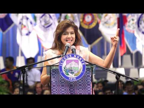 SOPA 2016 - Governor  Imee R.  Marcos Speech