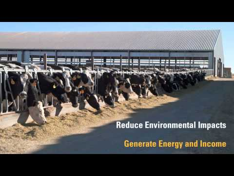 Caterpillar Powers Idaho Dairy with Renewable Biogas Energy