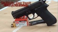 45acp +P Hornady TAP CQ 230gr ballistic gel test