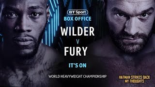 "DEONTAY WILDER VS TYSON FURY - IT'S ""OFFICIAL"" DECEMBER 1ST!!!!"