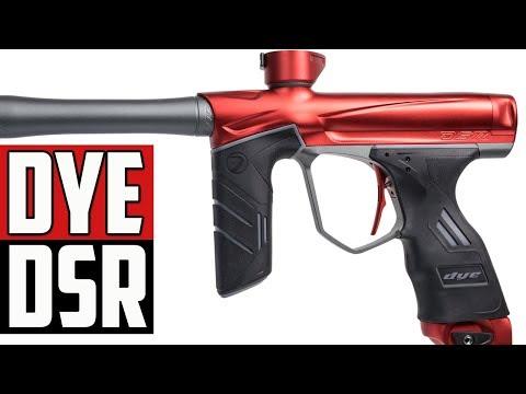 DYE DSR Paintball Gun - 4K