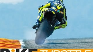 Greatest MotoGP Slides In History Valentino Rossi CRAZY Drifts and PowerSlides DriveTribe thumbnail