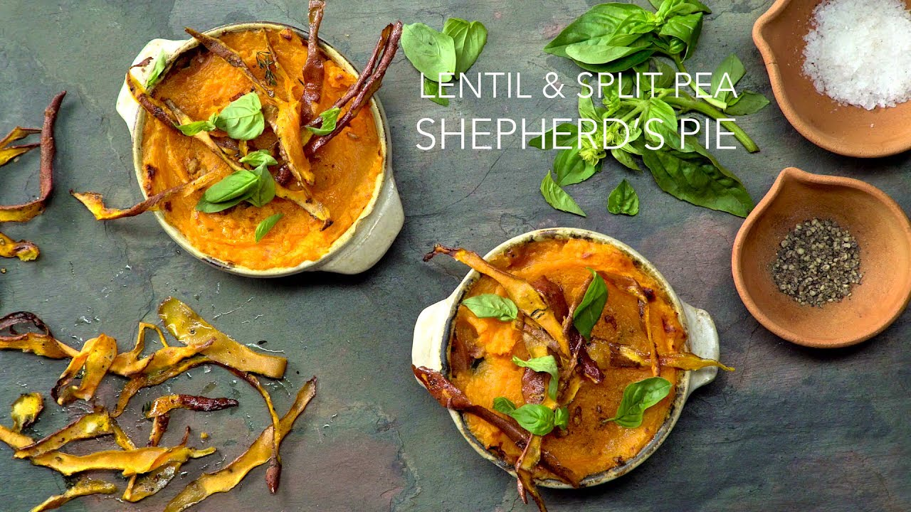 Lentil and Split Pea Shepherd's Pie