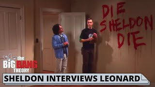 SHELDON AND LEONARD FIRST MEET | The Big Bang Theory best scenes
