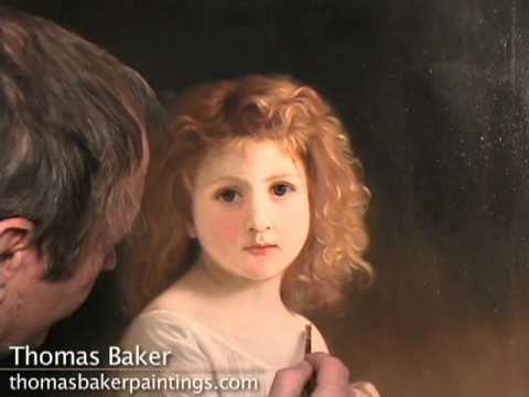 Painting Hair By Thomas Baker Youtube