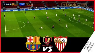 BARCELONA vs SEVILLA | HIGHLIGHTS, RESUMEN | Copa del rey, 2021