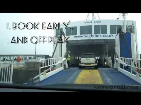 Isle of Wight ferry - 4 tips to get the best price with Red Funnel or Wightlink