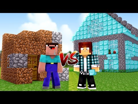 Minecraft : NOOB VS PRO NO MINECRAFT !!