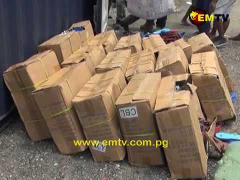 PNG Customs Commissioner Warns Importers Of Illicit Products