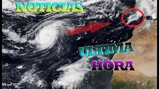 Noticias de ultima hora, El huracan Leslie azota naturdecora!